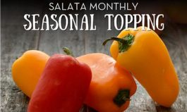 Salata Adds Mini Sweet Peppers to Toppings Lineup in May