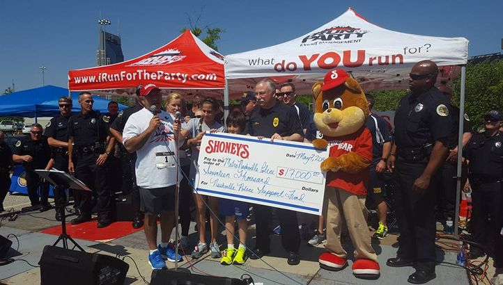 Shoney's Hosts Nashville's Premiere Annual Gathering at 9th Annual 5K Family Fun Run, Walk & FREE Festival on May 13th at Nissan Stadium
