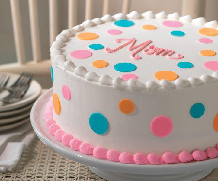Baskin-Robbins Celebrates Moms Nationwide with New Polka Dot Cake and May Flavor of the Month, Mom's Makin' Cookies