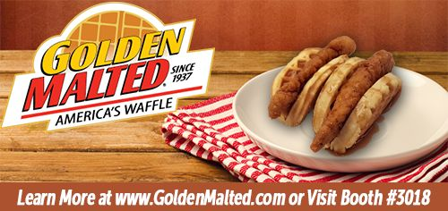 Golden Malted, the World's Largest Distributor of Waffle Mix and Irons since 1937, will be debuting new Frozen Waffles & More in Booth #3018 at the 2017 NRA Show