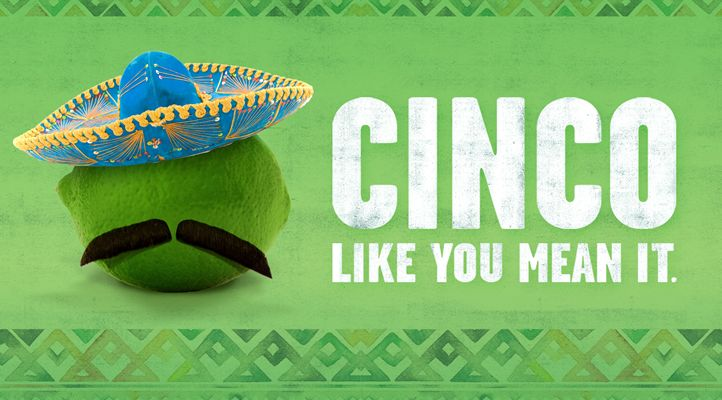 "On The Border Mexican Grill & Cantina Invites Guests to ""Cinco Like You Mean It"" This Cinco de Mayo"