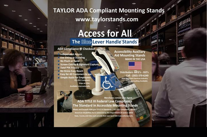 The ADA and your restaurant at Point of Sale Checkout could be the next lawsuit...here's why