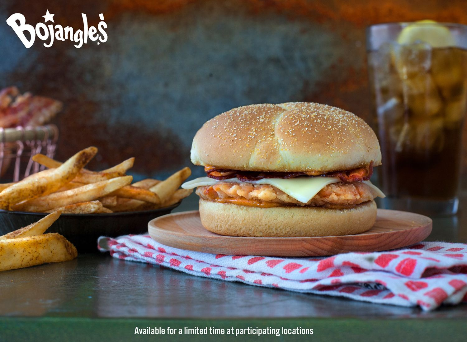 Spice Up Your Lunch: Grab Bojangles' All-New Sweet Cayenne Cajun Filet Sandwich