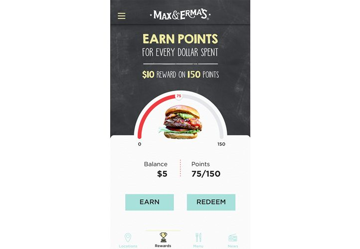 Max & Erma's Launches New Loyalty App