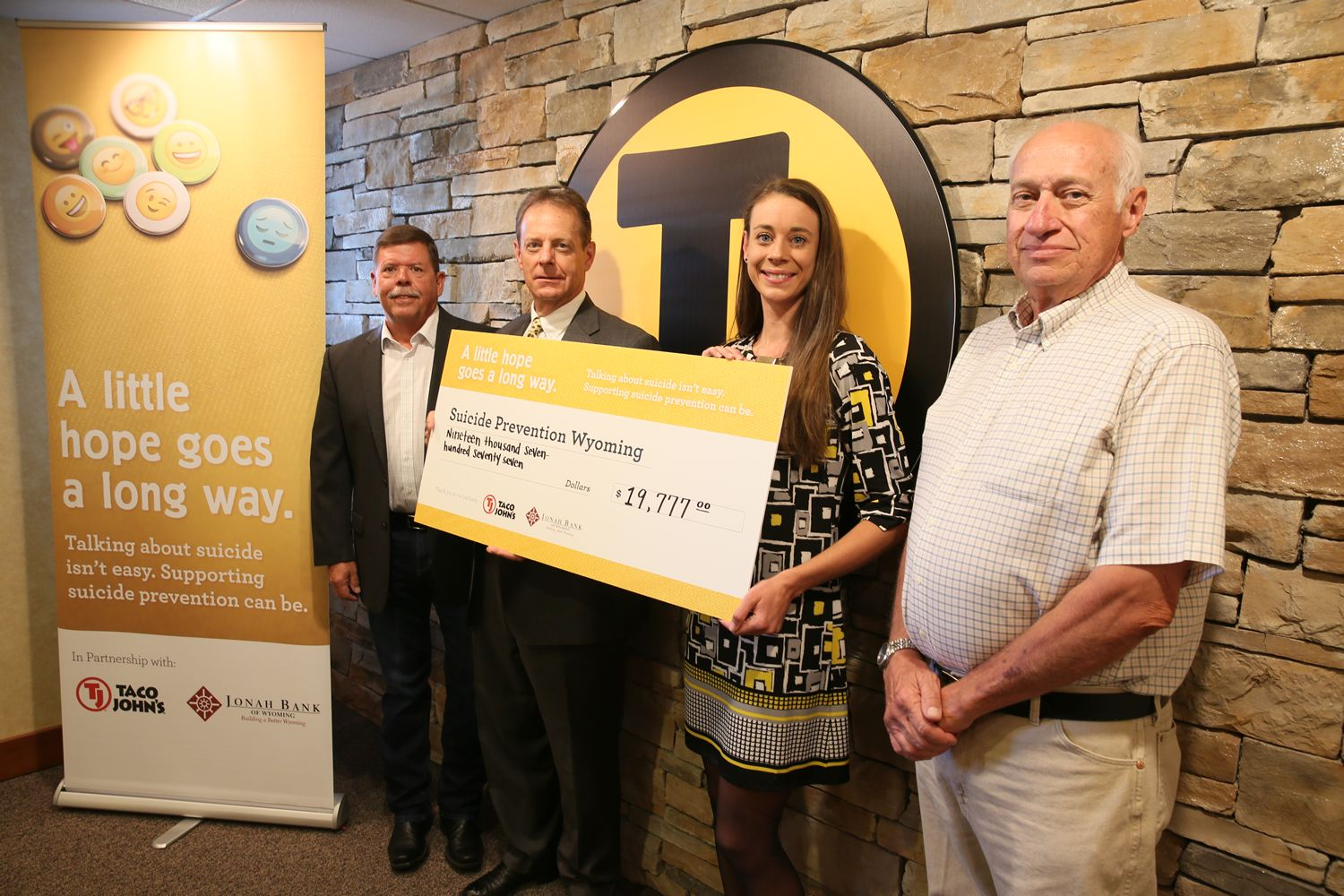 Wyoming Businesses Donate Nearly $20,000 To Statewide Suicide Prevention Programs