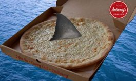 Anthony's Unleashes Great White Pizza For Most Dangerous Week Of The Year