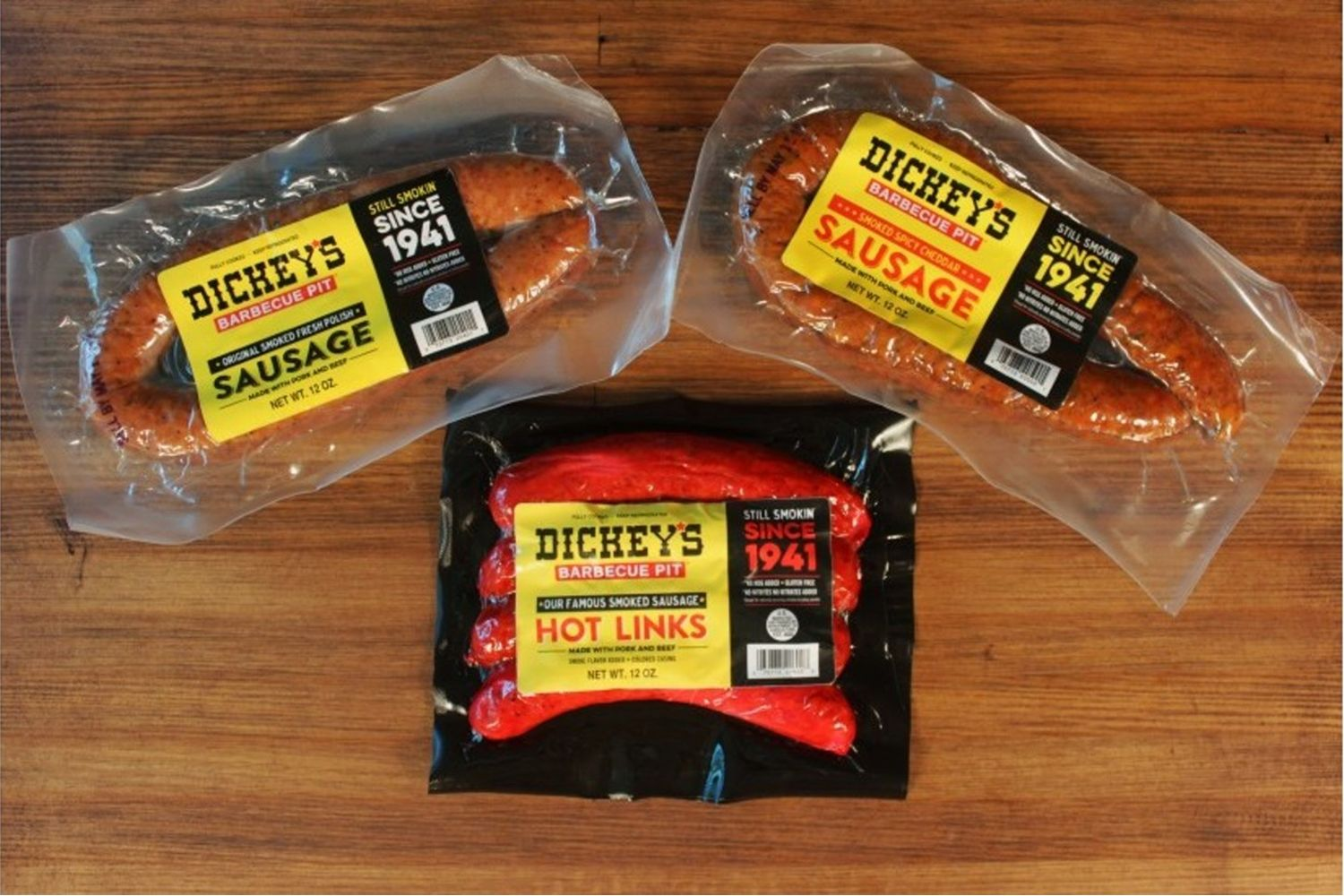 Dickey's Barbecue Pit's Signature Sausage Hitting Houston Shelves