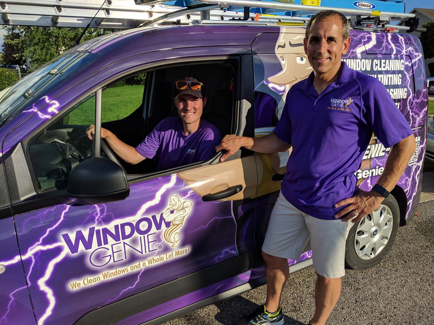 From Fast Food to Clean Windows, This Franchise Maven Chooses Solid Business to Build with Son