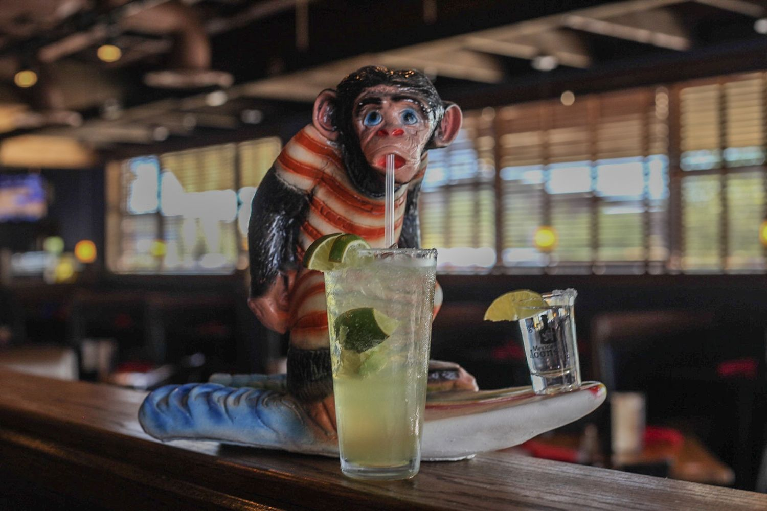 Ginger Monkey Offering Margaritas and Three Street Tacos for $2.40 each on National Tequila Day- Monday, July 24