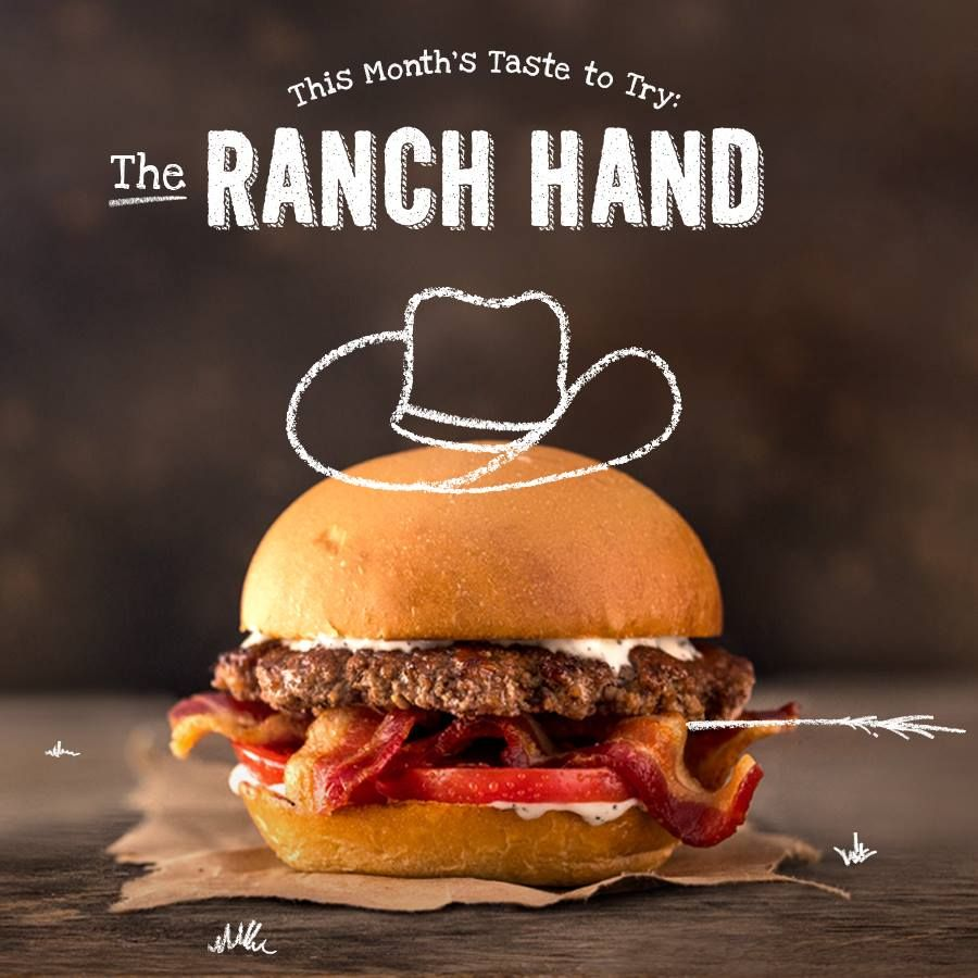MOOYAH Burgers, Fries & Shakes Beefs Up its Menu with The Ranch Hand