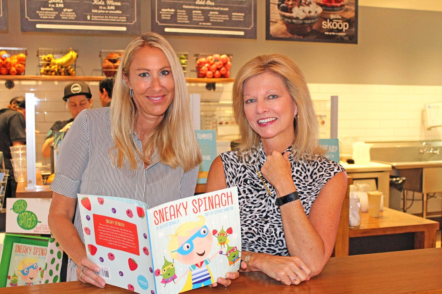 "Nékter Juice Bar Donates $5,000 from Sales of ""Sneaky Spinach"" Children's Book to Festival of Children Foundation"