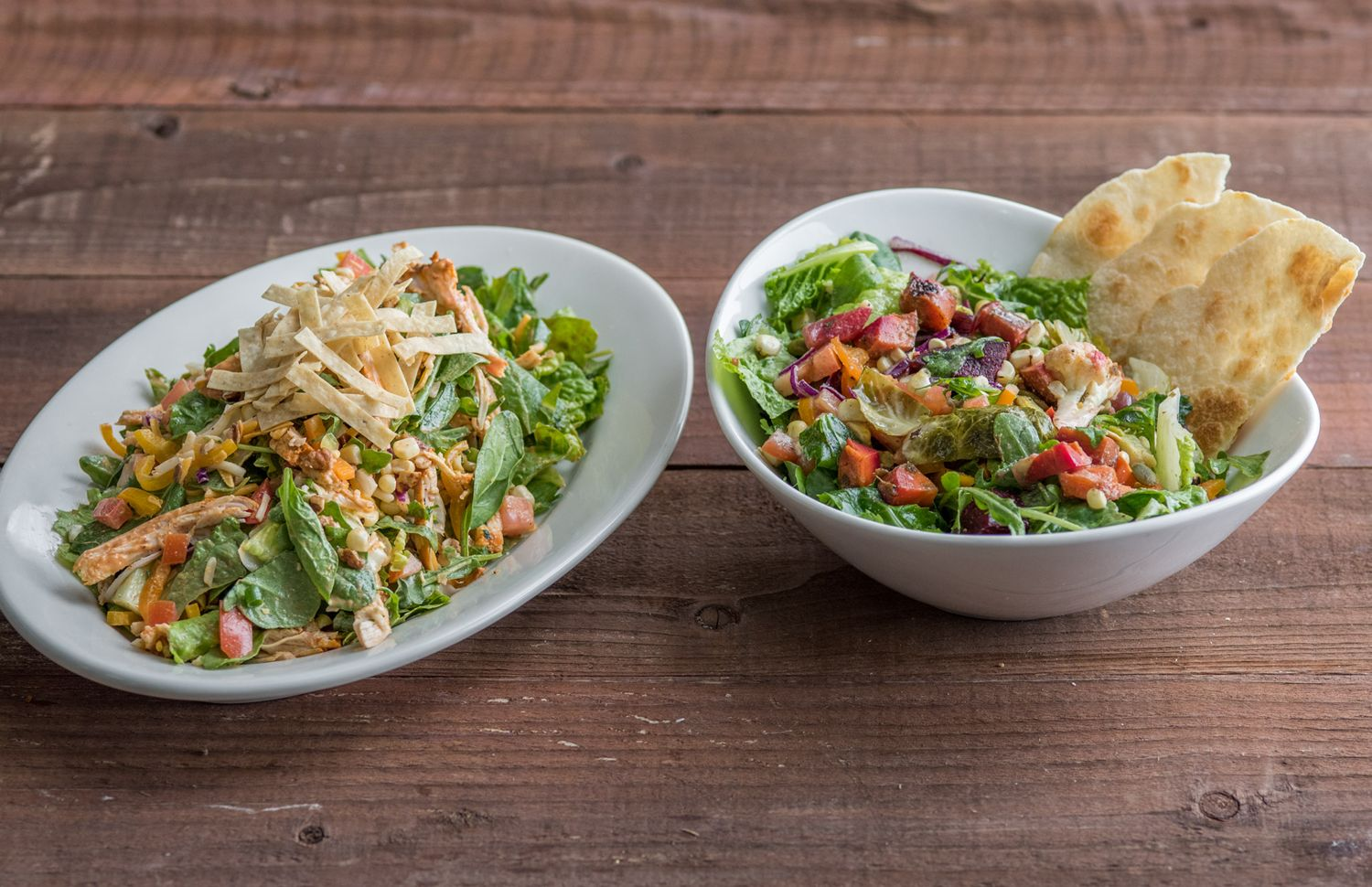 Sharky's Woodfired Mexican Grill Features Summer's Best Flavors in Two New Fresh and Satisfying Seasonal Salads