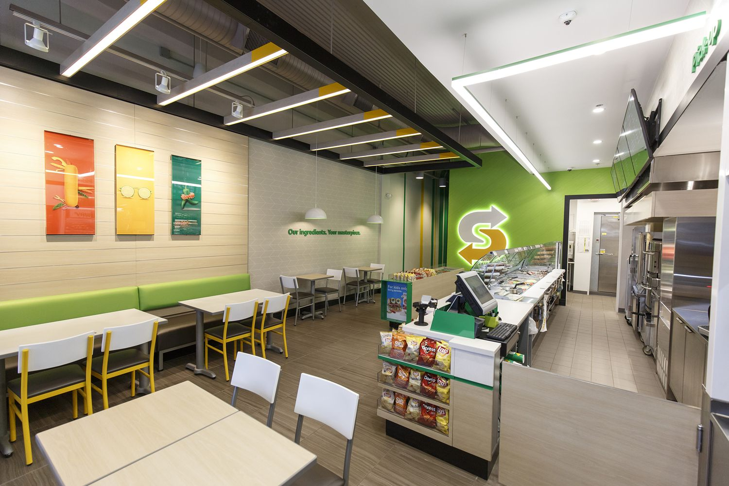 Subway brings fresh forward with new restaurant design