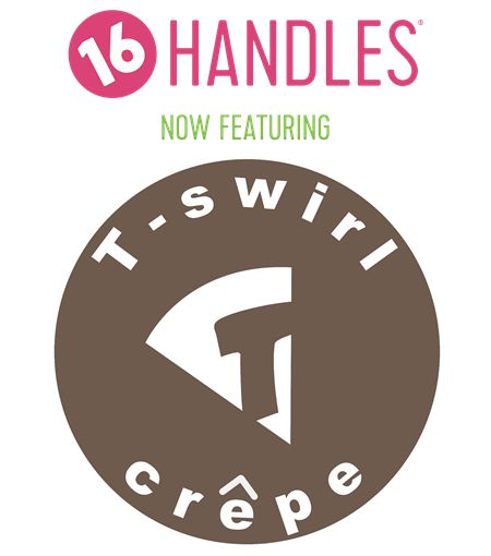 16 Handles Williamsburg Partners with T-Swirl Crêpe!