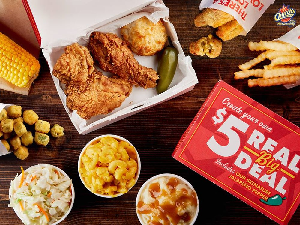 Church's Chicken Launches Biggest Ultimate Choice Meal Program in Brand History