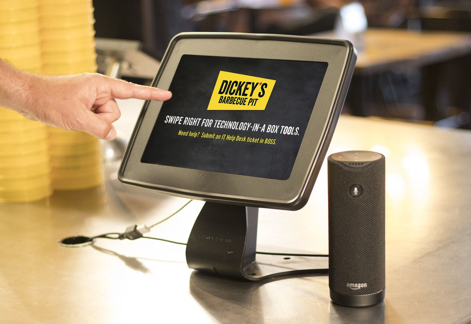 "Dickey's Barbecue Pit Incorporates ""Hey Alexa"" to Enable Key Business Functions"