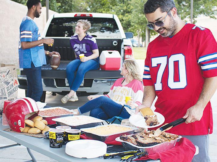 Dickey's Barbecue Pit Introduces Delivery for Tailgate Party Pack this Football Season