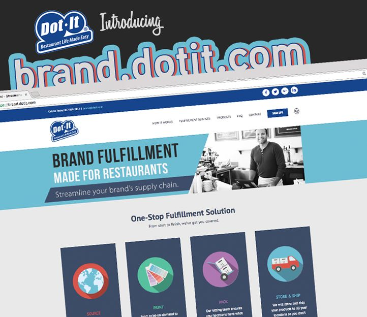 Dot It Launches New Website for Brand Fulfillment