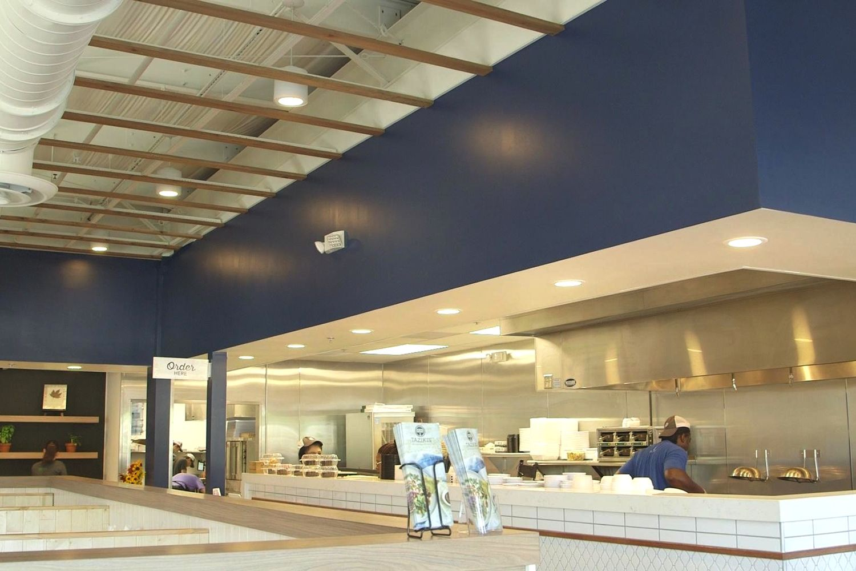 Taziki's Mediterranean Café Unveils New Interior Design Reflecting Mediterranean-Coastal Atmosphere