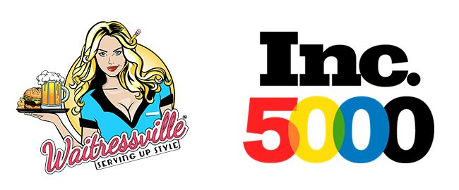 Waitressville Uniforms of Dallas, Texas Ranks #1585 on the 2017 Inc. 5000 with Three-Year Sales Growth of 249%