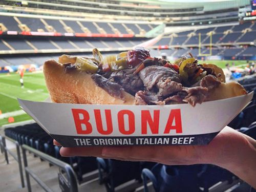 Buona, Chicago's Original Italian Beef, Comes To Soldier Field
