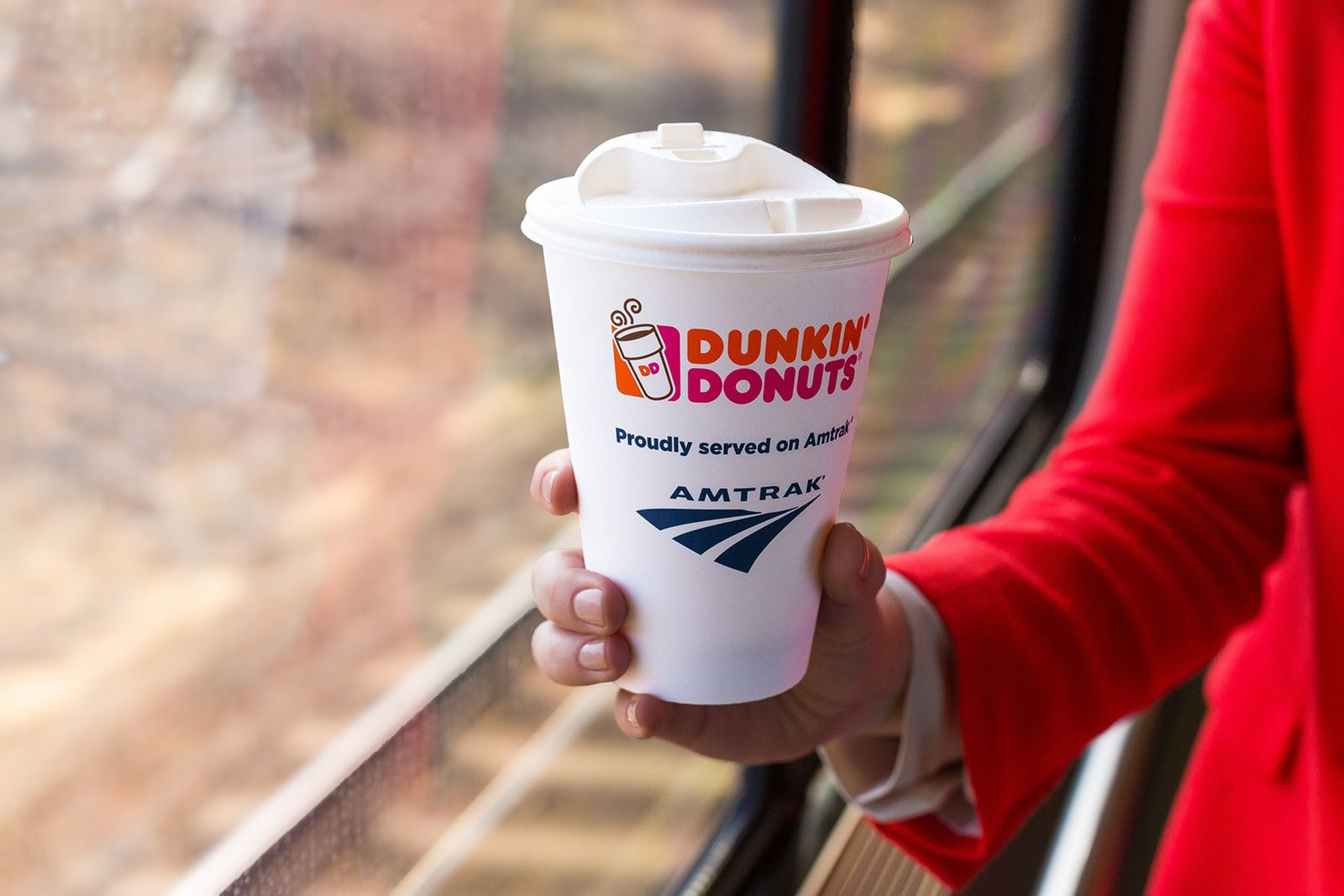 Dunkin' Donuts and Amtrak Expand Partnership with Hot Coffee Service On Board Amtrak Northeast Regional Trains