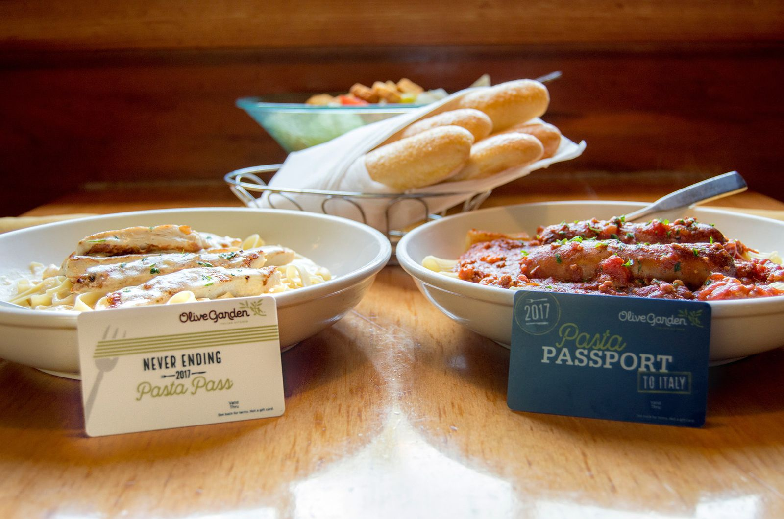 Olive Garden Introduces $200 'Pasta Passport to Italy' to Celebrate Return of 'Never Ending Pasta Pass'