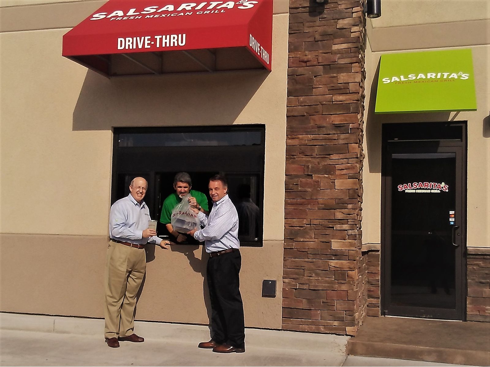 Salsarita's Fresh Mexican Grill Debuts First Drive-Thru Location