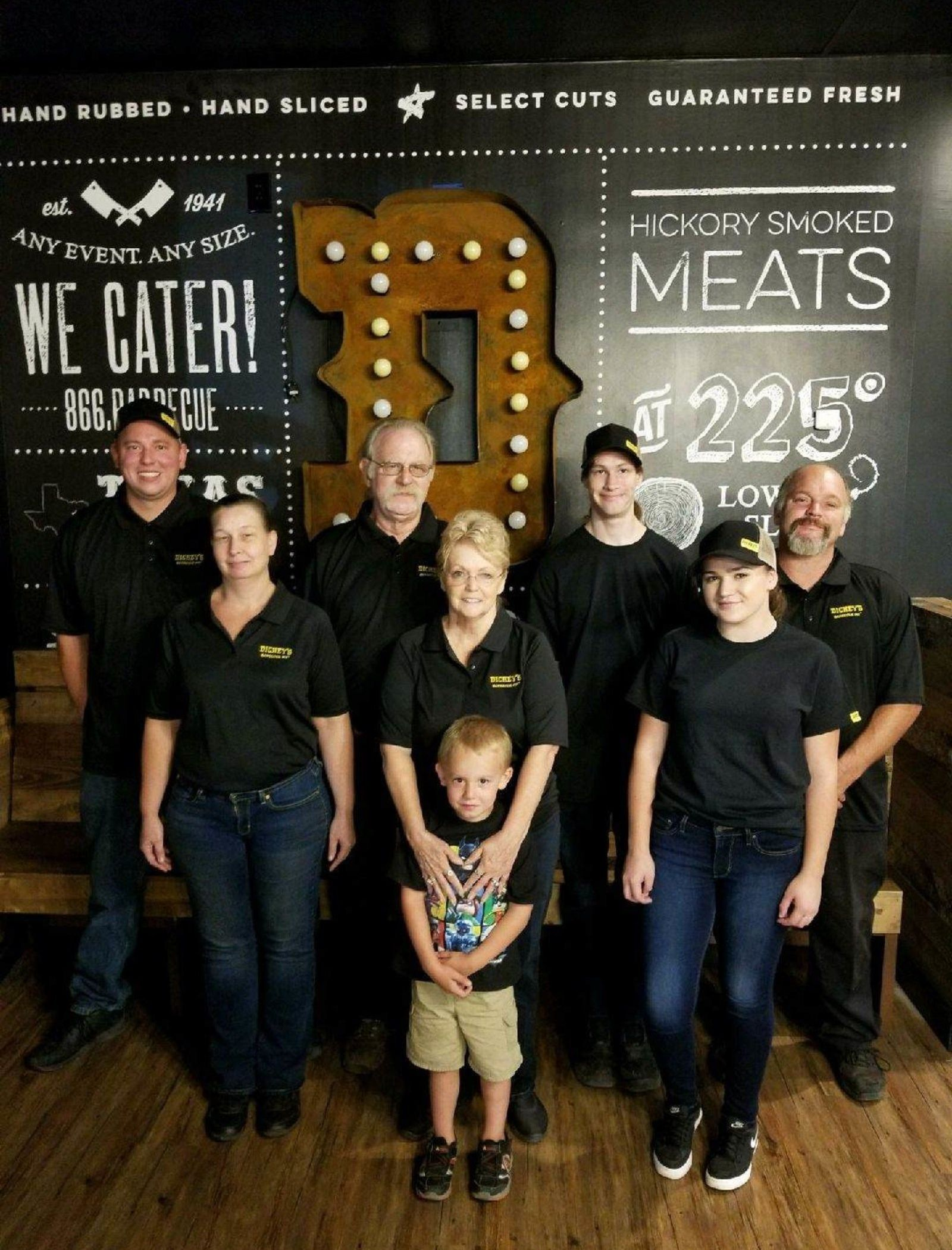 Three Generations Come Together to Bring Dickey's Barbecue Pit to Placerville