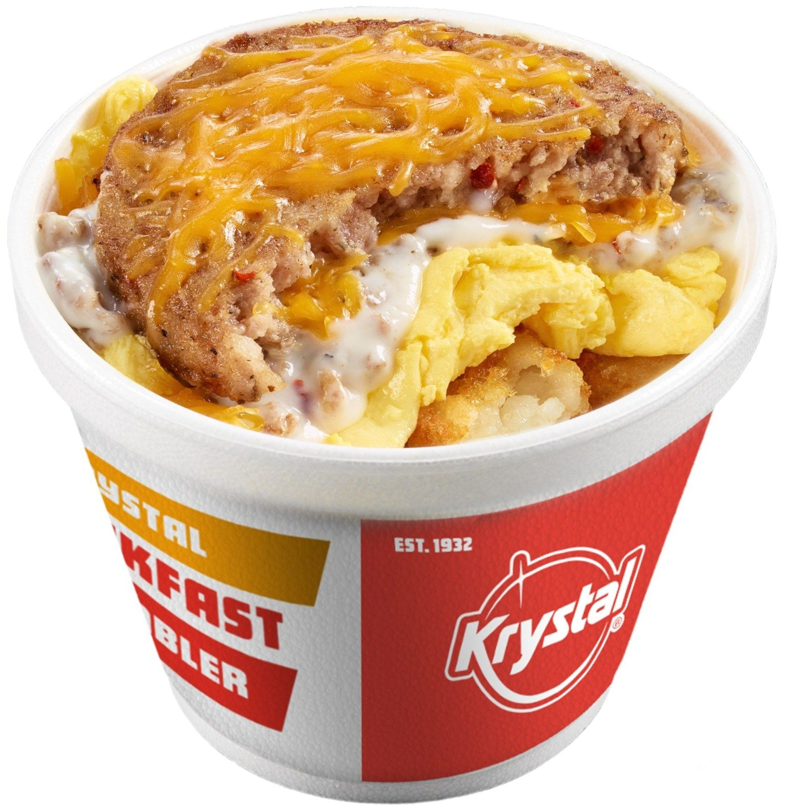 Breakfast at Krystal Just Got Loaded and Even More Exciting