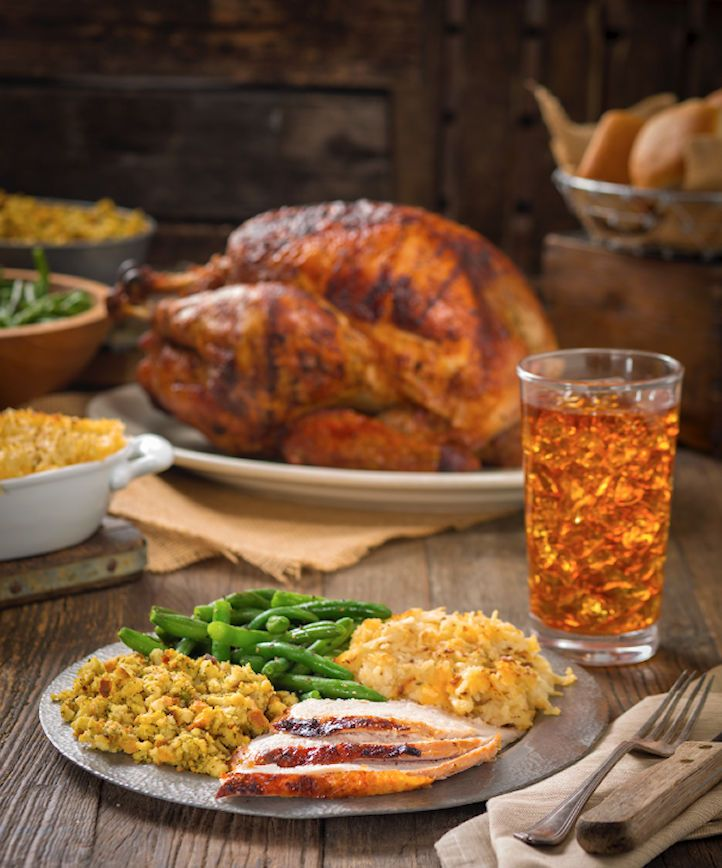 Cowboy Chicken Heats Up the Holidays with Wood-Fried Rotisserie Turkeys