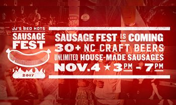 JJ's Red Hots Set for 6th Annual SausageFest, Saturday November 4