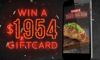 Jimboy's Tacos Launches Mobile App with $1,954 Sweepstakes