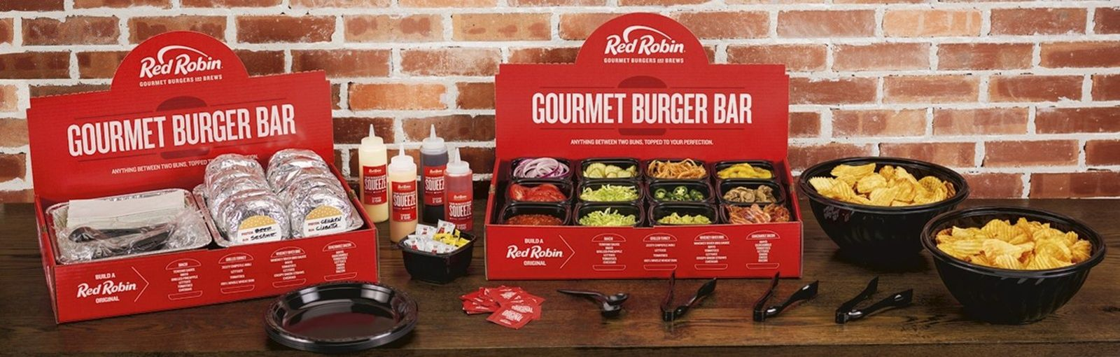 Red Robin Launches Gourmet Burger Bar at Select Locations Across the Country