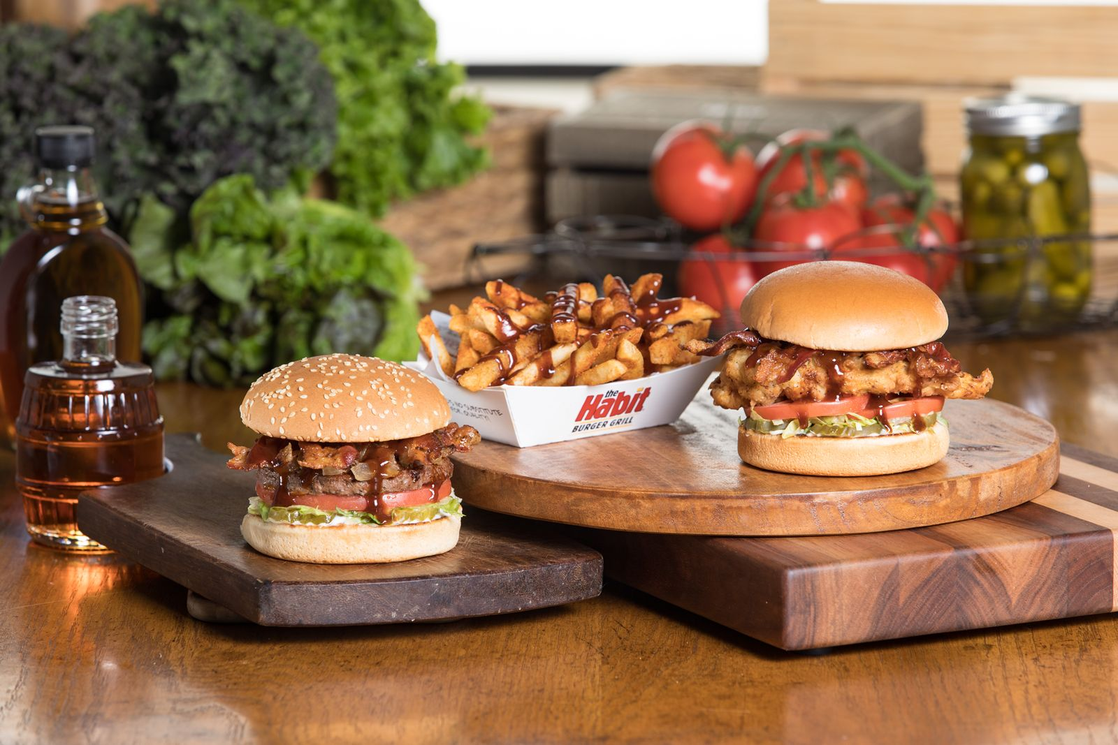 The Habit Burger Grill Fires Up New Bourbon Flavored Menu Items