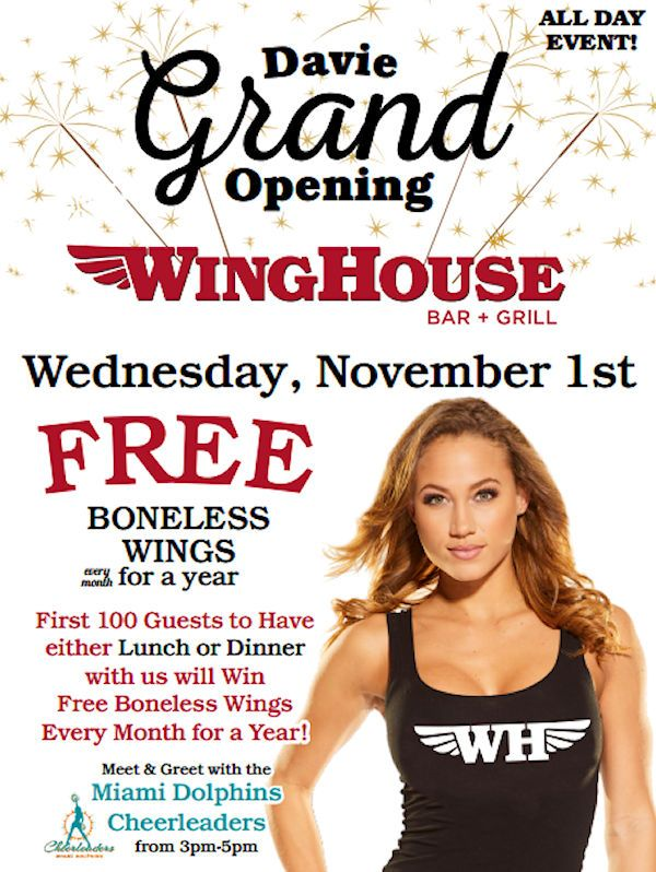 The WingHouse Bar and Grill Comes To Davie Florida