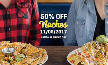 There's No Wrong Way to Nacho at On The Border on National Nacho Day