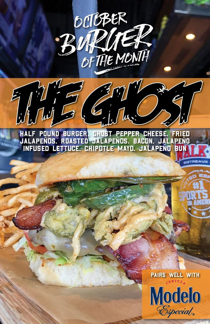 Walk-On's Ushers In Fall With Frightfully Delicious Burger Of The Month