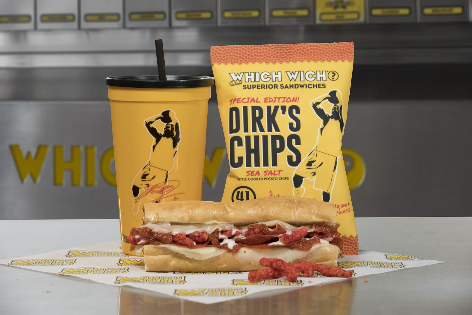 "Which Wich Superior Sandwiches Partners with Dirk Nowitzki to Offer ""DirkWiches"" Promotion"