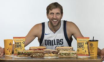 """Which Wich Superior Sandwiches Partners with Dirk Nowitzki to Offer """"DirkWiches"""" Promotion"""