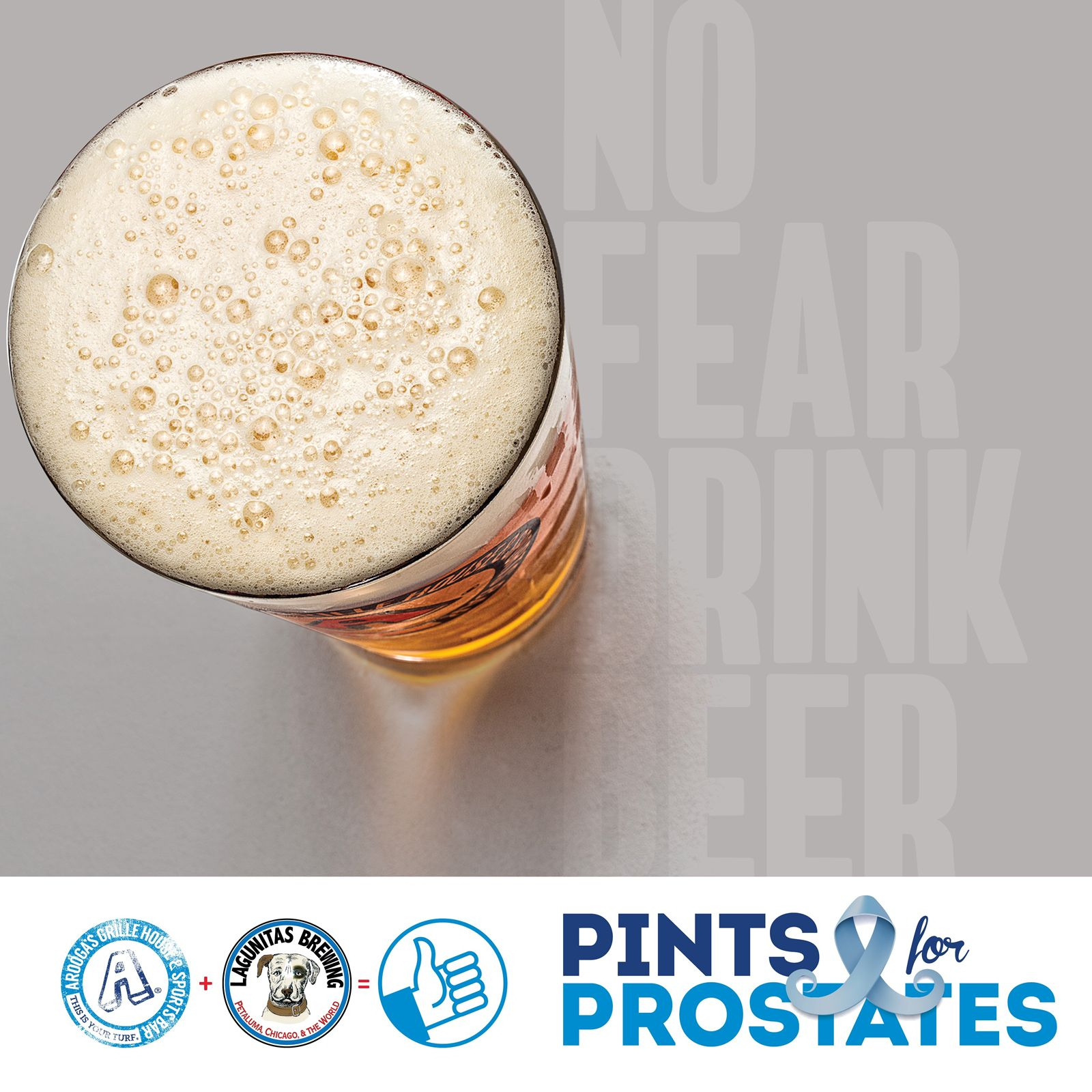 Arooga's Celebrates NovemBeer with Pints for Prostates