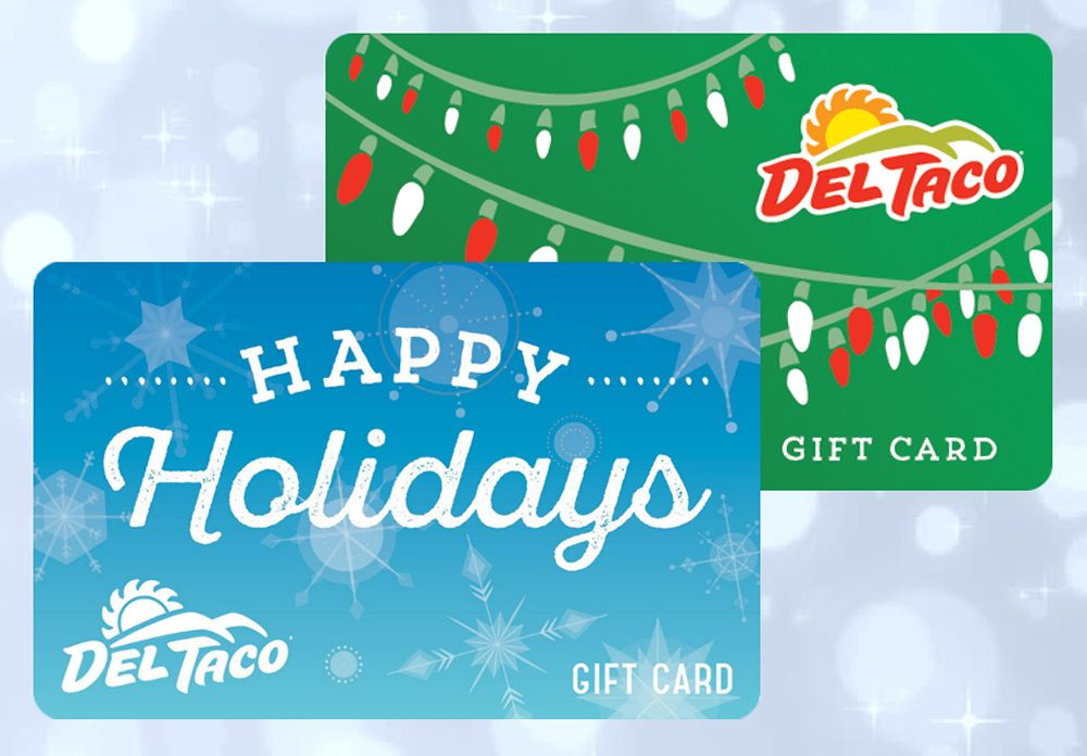 The Gift That Keeps On Giving: Del Taco Holiday Gift Cards