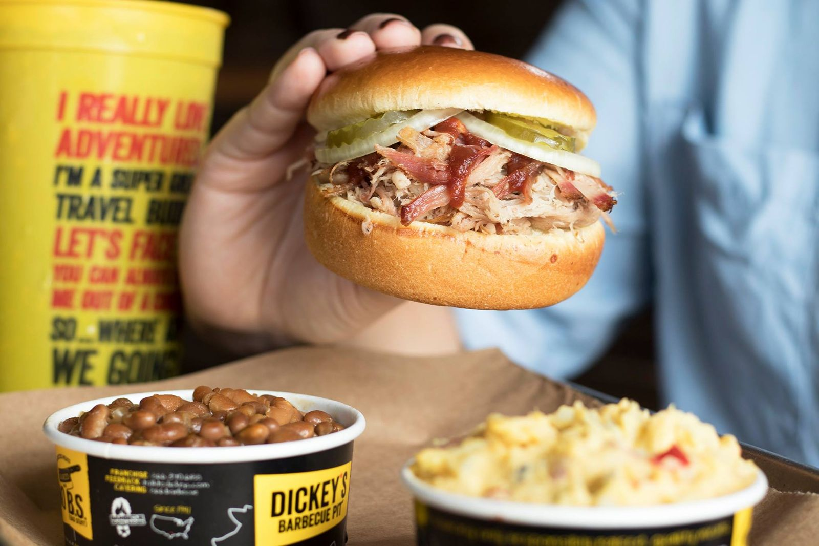 Barbecue Loving Family Brings Dickey's to Baytown