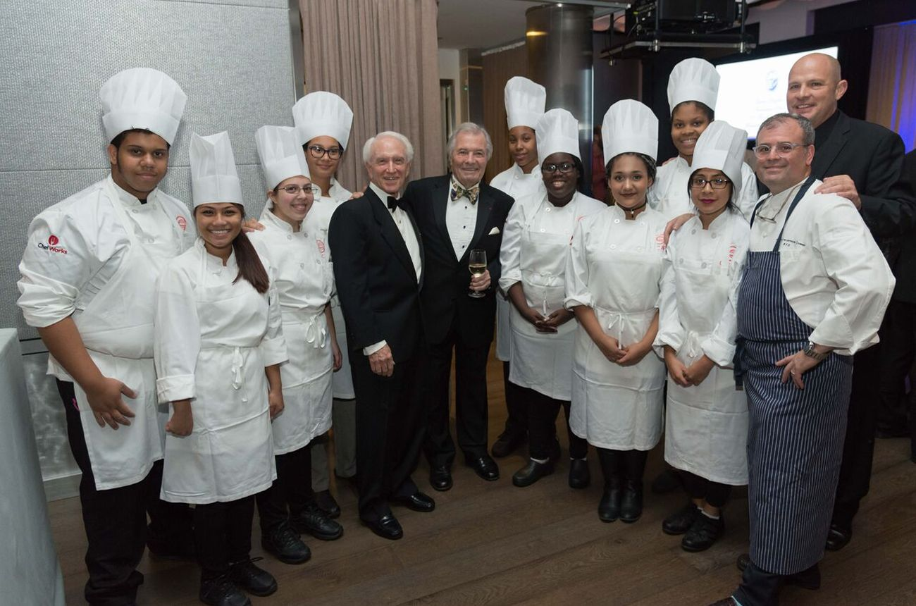 Les Amis d'Escoffier Society of New York Honors C-CAP Founder Richard Grausman, Chef Jacques Pépin, and UFT President Michael Mulgrew