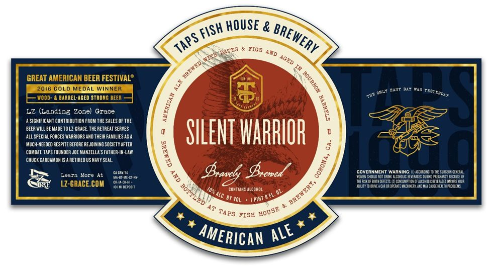 TAPS to Release 'Silent Warrior' Tribute Beer on Veterans Day
