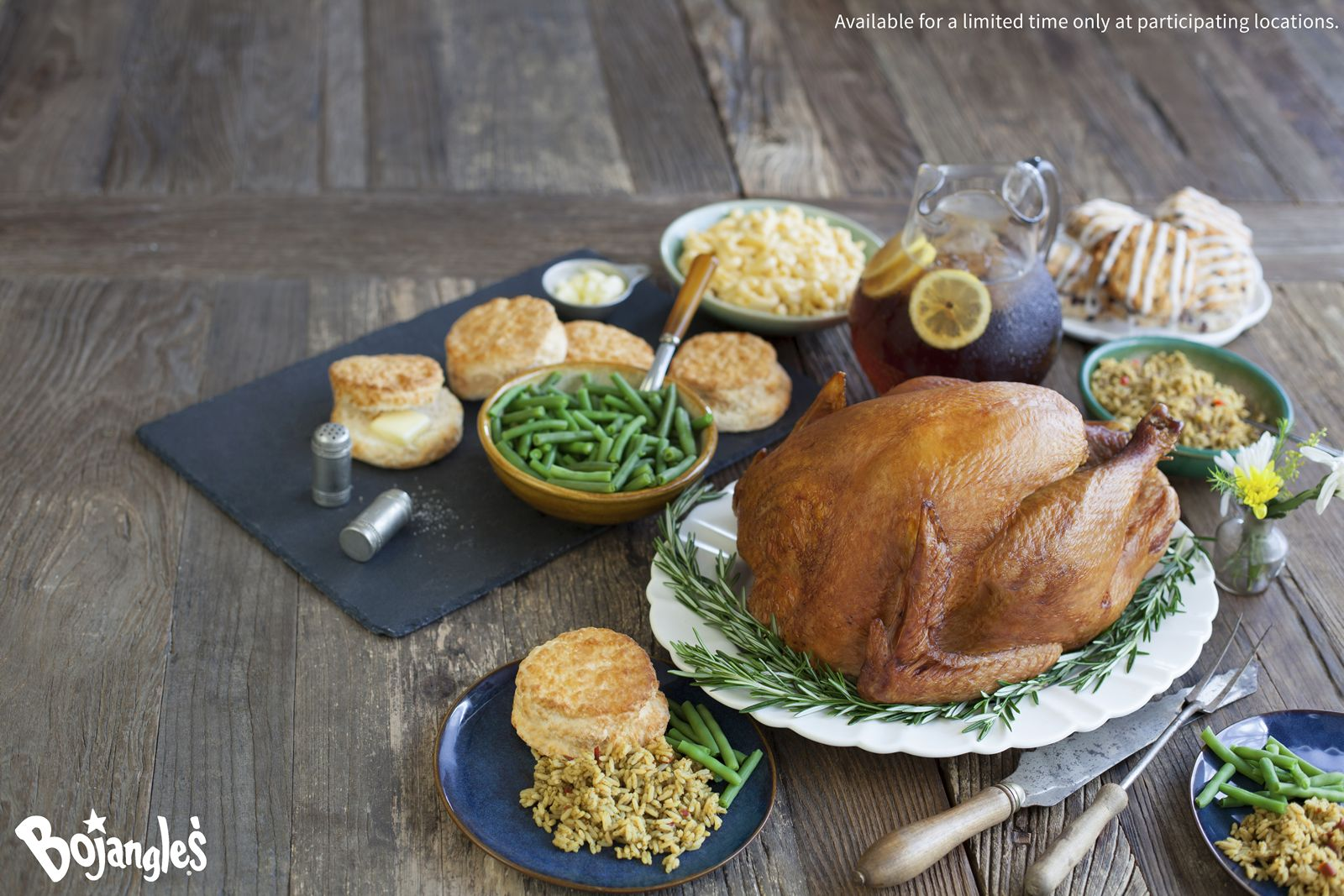 This Thanksgiving, Delight Your Guests with a Bojangles' Seasoned Fried Turkey