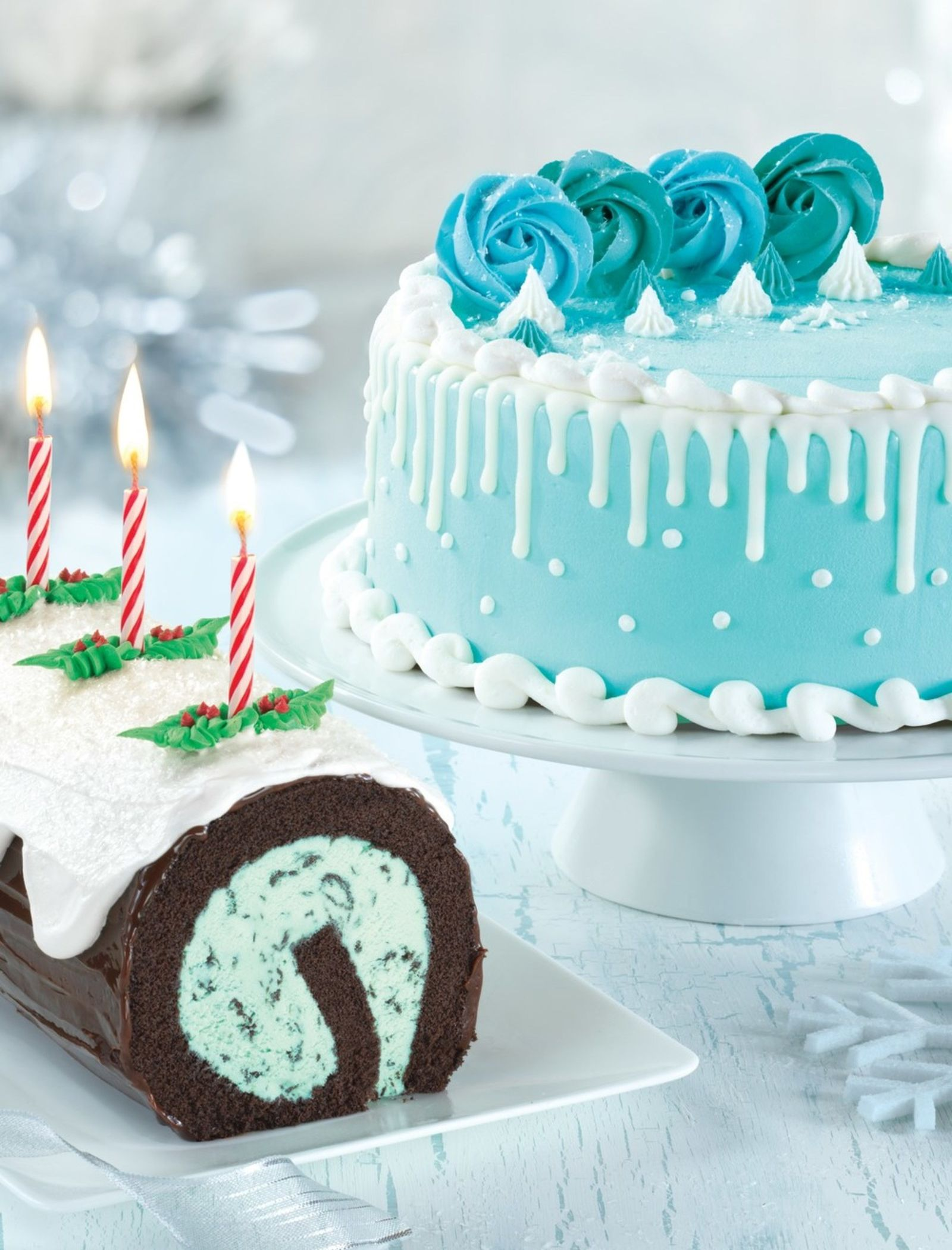 Baskin-Robbins Celebrates the Spirit of the Holiday Season with Festive Winter Wonderland Cake and YORK Peppermint Pattie Flavor of the Month