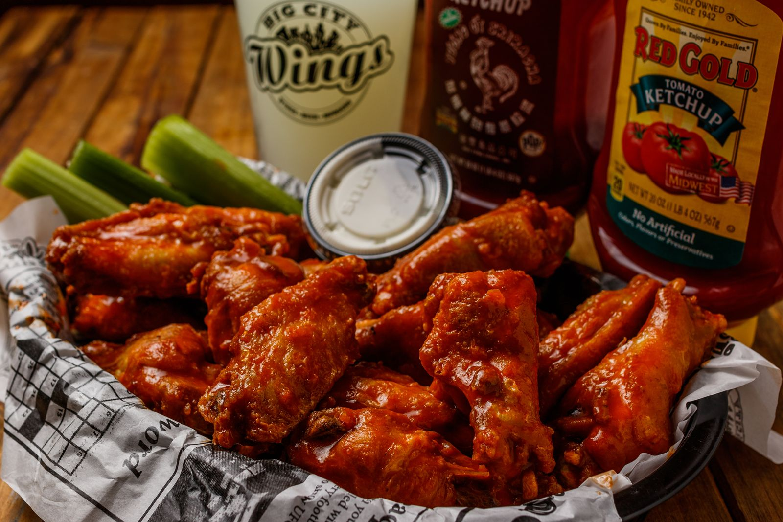 Houston's Big City Wings Lands Fifth Location at Marq-E Entertainment Center