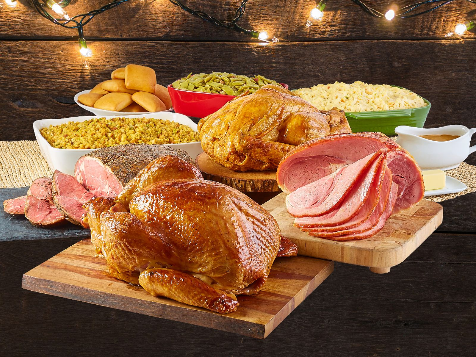 Deck the Table with Dickey's Prime Rib Holiday Feast