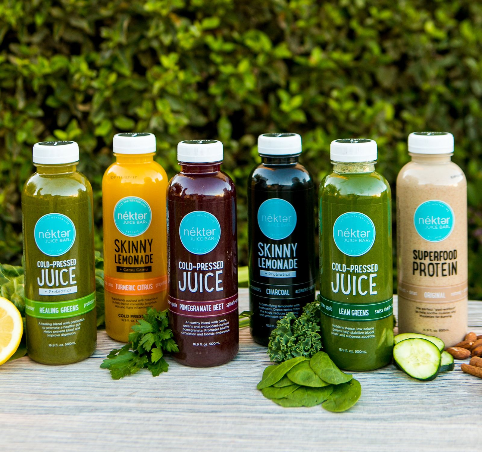 "Start the New Year Fresh with Nékter Juice Bar's New ""Reset, Reenergize and Reboot"" Menu"